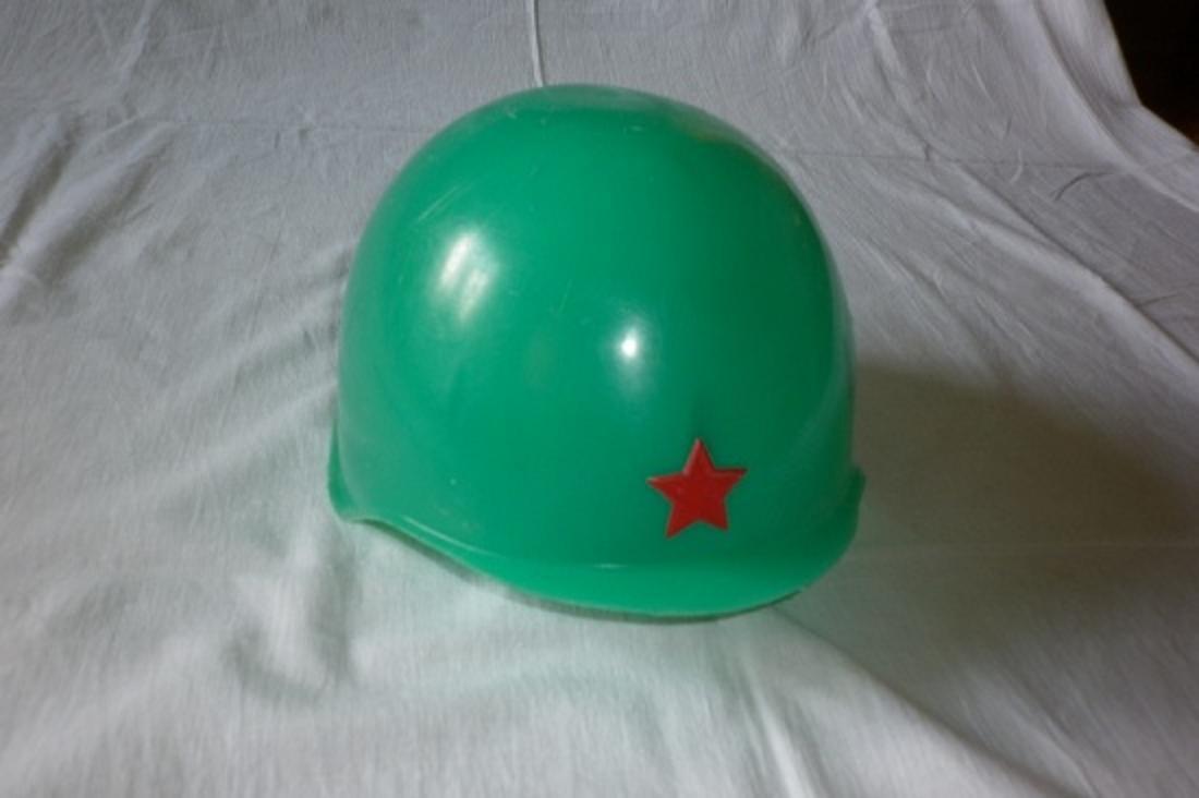 Как сделать из бумаги шлем военного