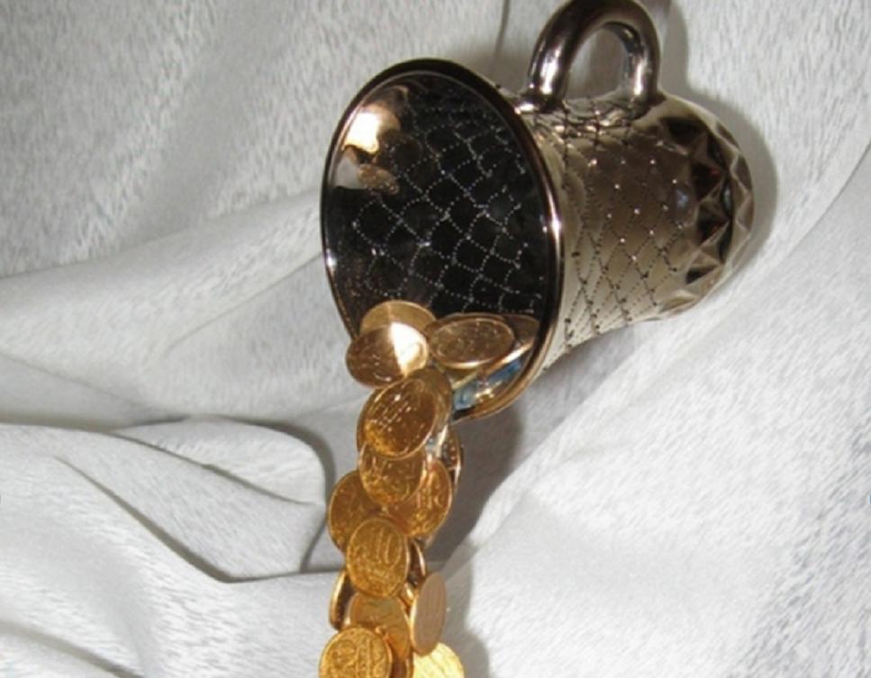 Сувенир из монет своими руками