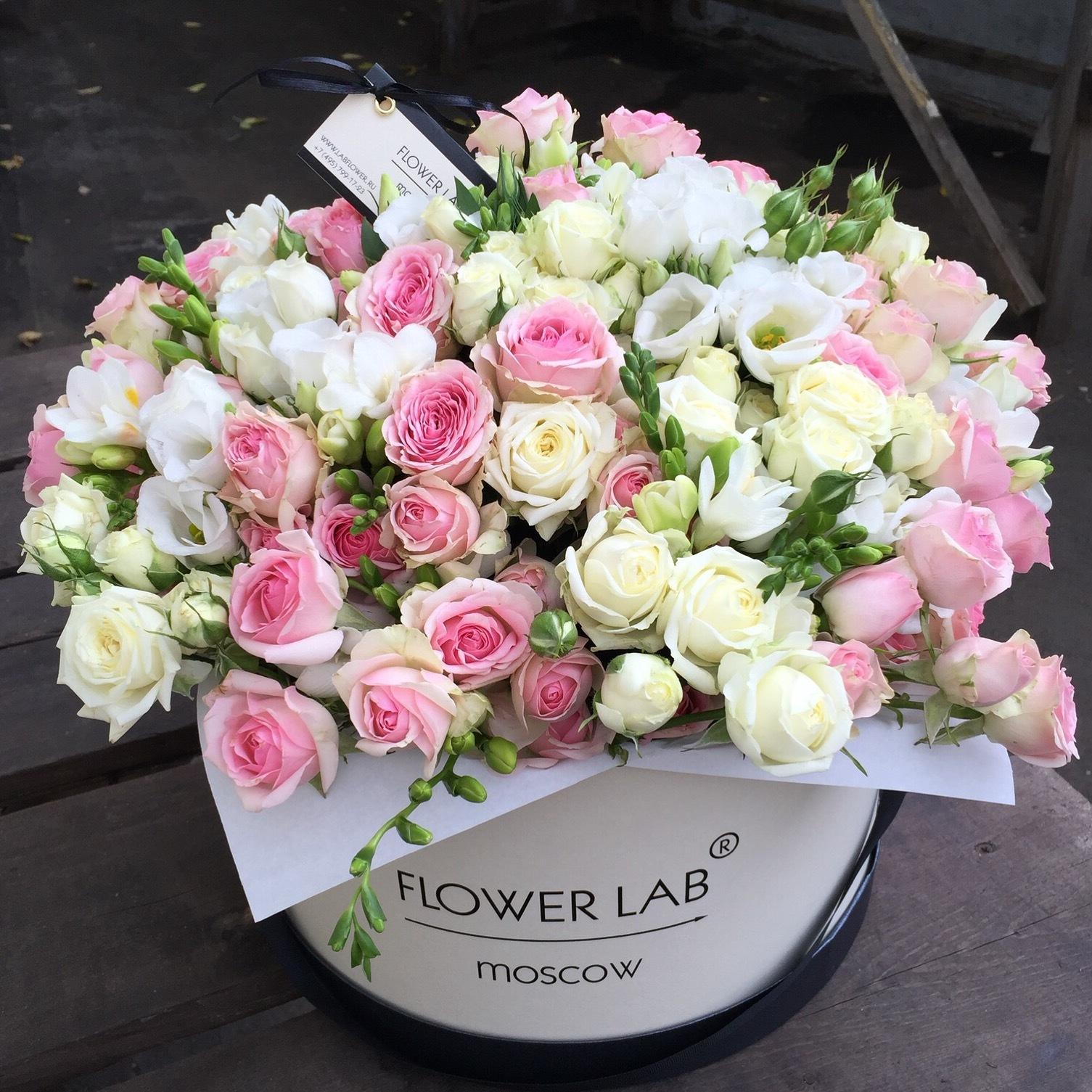 Открытка на день рождения цветы в коробке