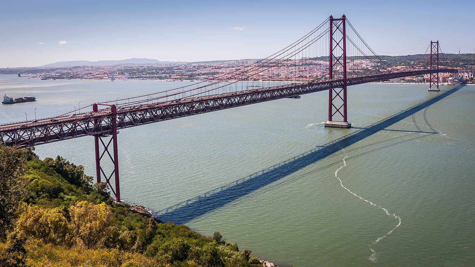 универсальная обувь с какого места фотографировать мост в лиссабоне могли только видеть