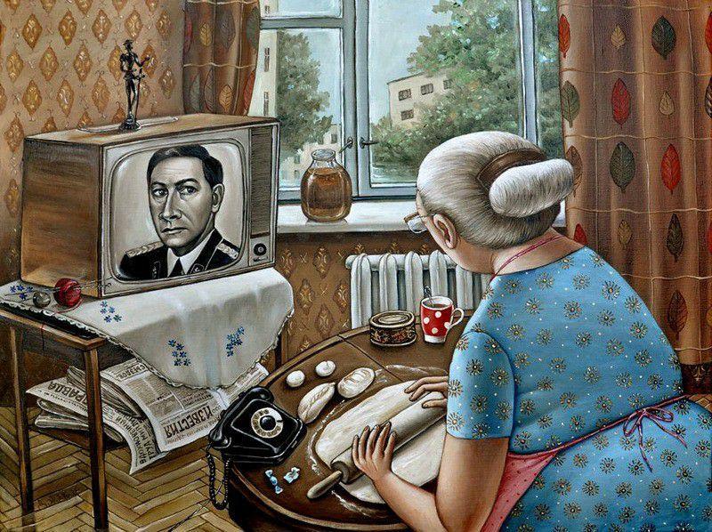 Телевизор смешная картинка
