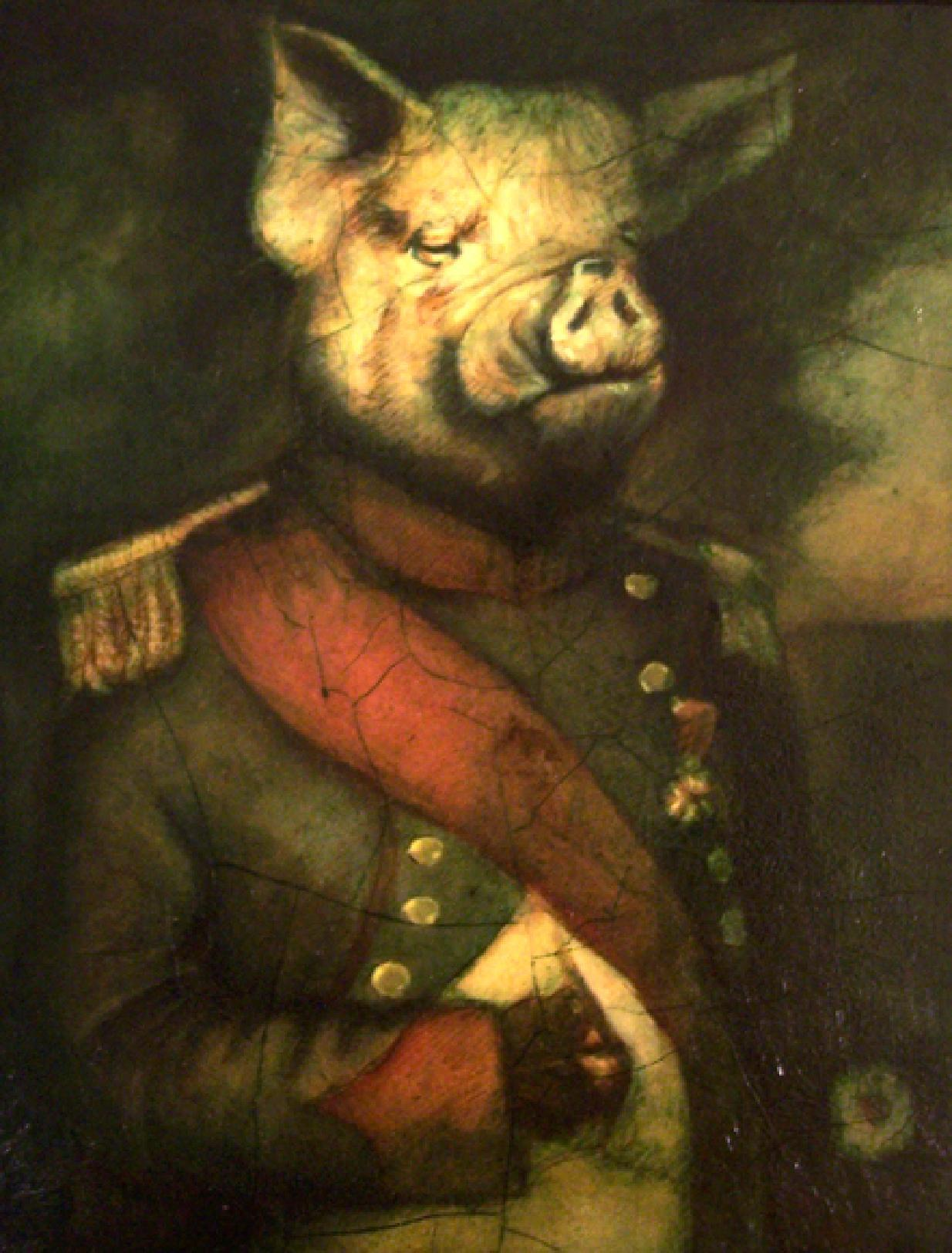 napoleon a pig in animal farm shmoop sparknotes animal farm study questions essay topics