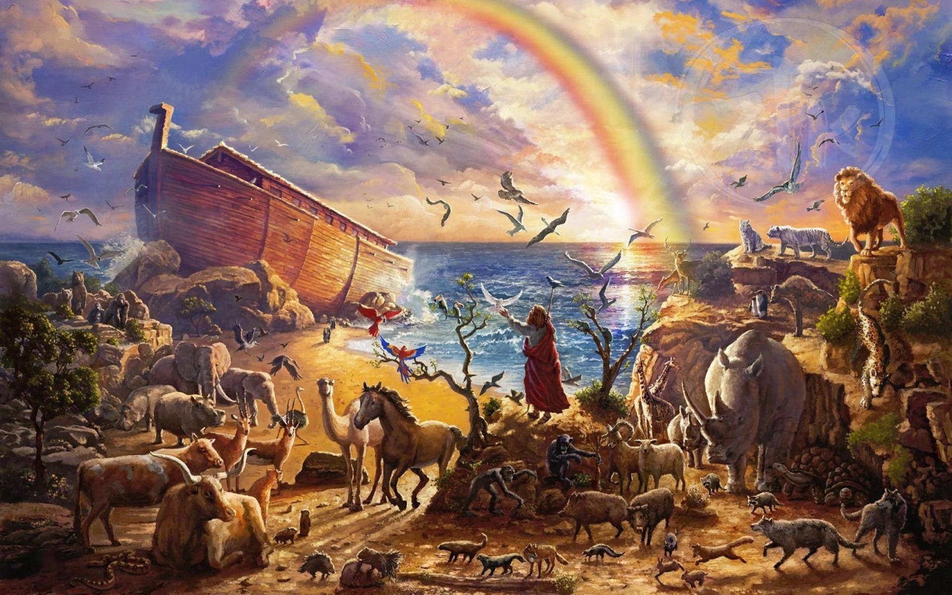 Картинки всемирного потопа