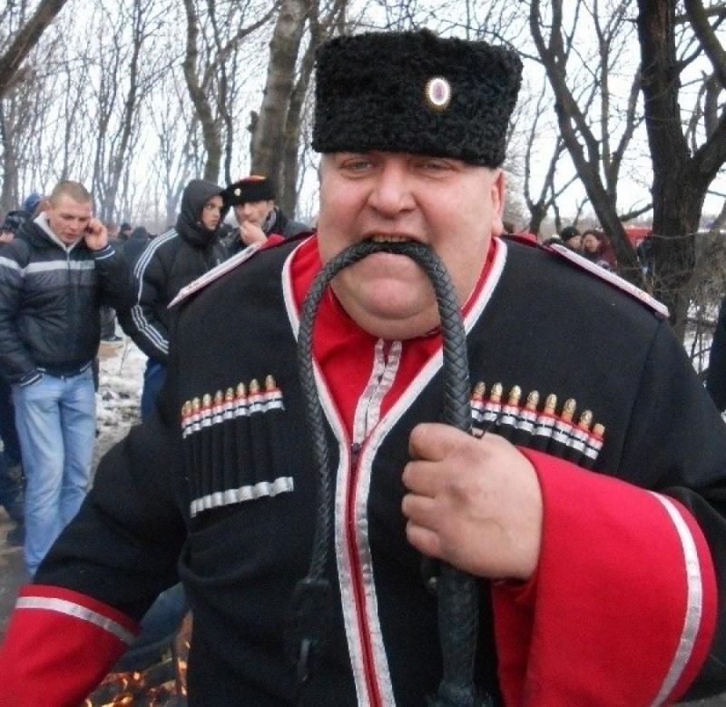 Демотиваторы ряженые казаки