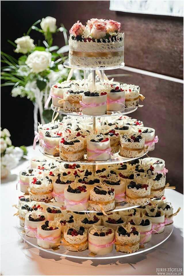 свадебные пирожные вместо торта рецепты с фото