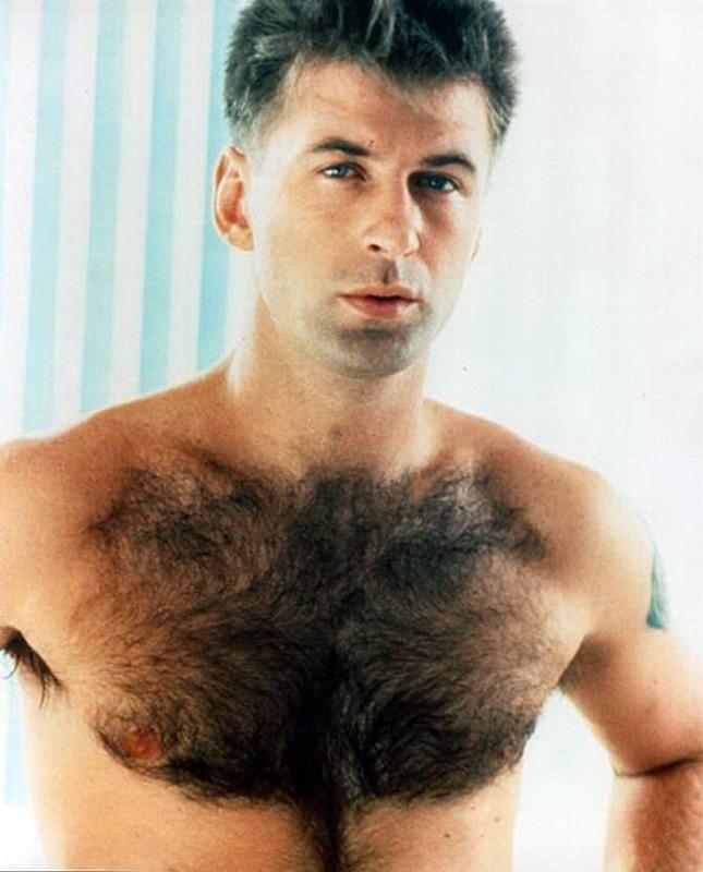 Волосатая грудь мужика фото #8