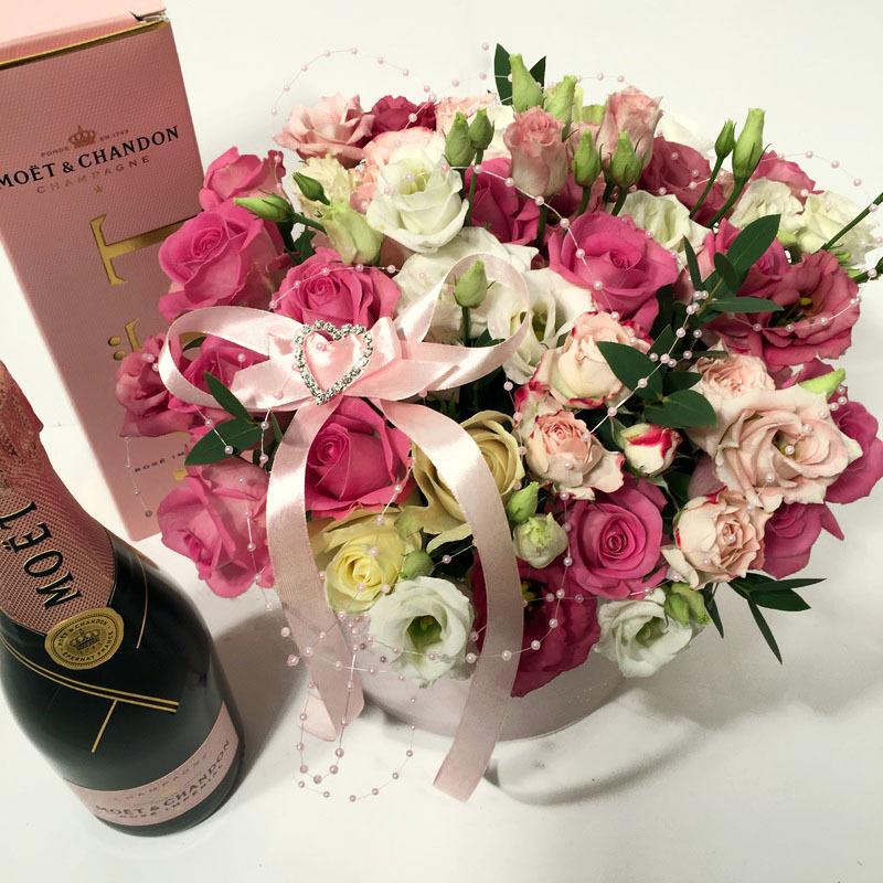Картинки с днем рождения цветы и шампанское, днем вмф россии