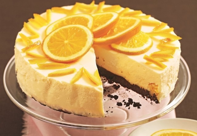 Шоколадный торт с апельсинами рецепт с фото