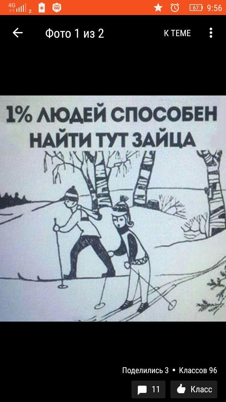 относится найди зайца на картинке советская загадка который