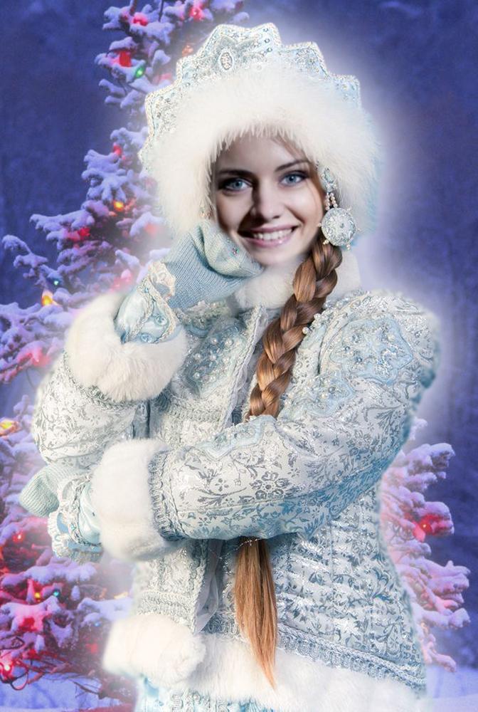 поздравленья вставить свое фото в картинку снегурочки много лет ирландии